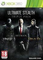 Ultimate Stealth Triple Pack: Deus Ex - Human Revolution + Hitman - Absolution + Thief (Xbox 360)