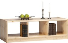 Steens Furniture Ltd Regal Boris Kiefer massiv natur lackiert 3 Fächer