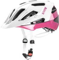 Uvex Quatro weiß-rosa matt