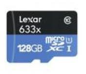 Lexar microSDXC 128GB Class 10 UHS-I (LSDMI128BBEU633R)