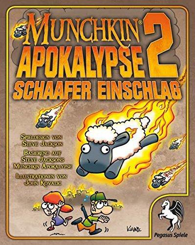 PEGASUS SPIELE Munchkin Apokalypse 2 - Schaafer Einschlag