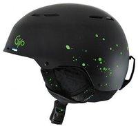 Giro Combyn matte black splatter