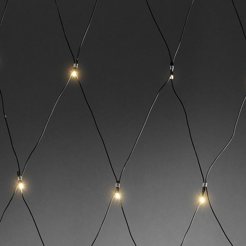 Konstsmide LED Lichternetz mit Lichtsensor (3725-100)