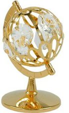 Gallay Globus mit Glas-Steinen