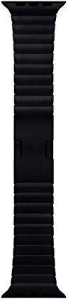 Apple Watch 42mm Edelstahlgehäuse mit Gliederarmband Edelstahl space black
