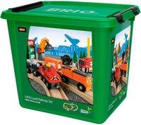 Brio Großes Güterbahnhof Set (33198)