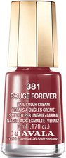Mavala Mini Color 381 Rouge Forever (5 ml)
