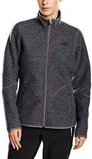 The North Face Women's Zermatt Full Zip Hoodie Jacket Vanadis Grey Heather