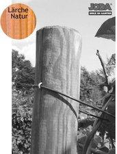 Jorkisch Zaunpfahl rund Lärche natur BxH: 10 x 250 cm
