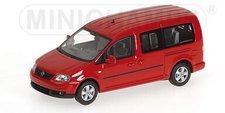 Minichamps Volkswagen Caddy Maxi Shuttle 2007 Red (400057000)