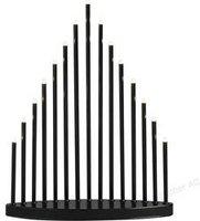 Konstsmide LED Metallleuchter schwarz (2495-710TR)
