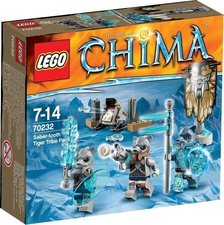 LEGO Legends of Chima - Saber-Tooth Tiger Tribe Pack (70232)