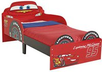 Worlds Apart Cars Toddler Bed Red