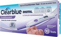 Clearblue Digitaler Ovulationstest mit dualer Hormonanzeige (10 Stk.)