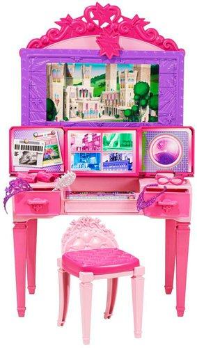 Barbie Super-Prinzessin Frisiertisch