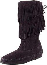 Minnetonka Calf Hi 2-Layer Fringe Boot