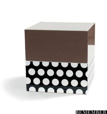Remember Products JewelCubes Schmuckbox Dots & Mocca