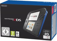 Nintendo 2DS schwarz-blau