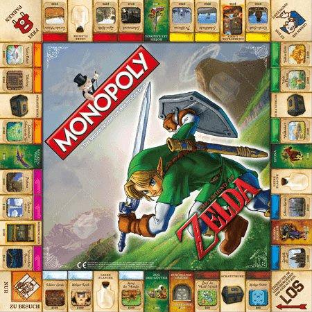 Winning Moves Monopoly Zelda Collectors Edition
