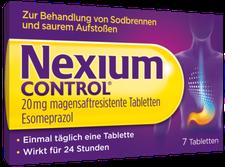 Pfizer Nexium Control 20 mg magensaftresistente Tabletten (7 Stk.)