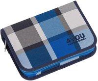 4You Etui XXL squares blue