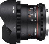 Samyang 12mm T3.1 ED AS NCS Fish-eye VDSLR