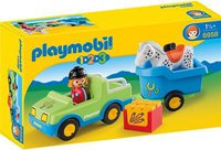Playmobil PKW mit Pferdeanhänger (6958)
