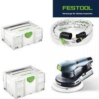 Festool ETS EC 150/3 EQ-Plus-GQ + Saugschlauch im Systainer (571940)
