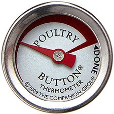 Charcoal Companion Knopf-Thermometer