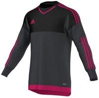 Adidas Top 15 Torwarttrikot Kinder dark grey/black/bold pink