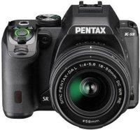 Pentax K-S2 Kit 18-50 mm + 50-200 mm schwarz