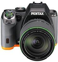 Pentax K-S2 Kit 18-135 mm schwarz/orange