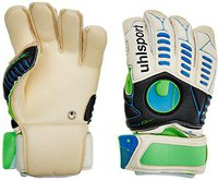 Uhlsport Ergonomic Bionik+ X-Change weiß/schwarz/flash grün/cyan