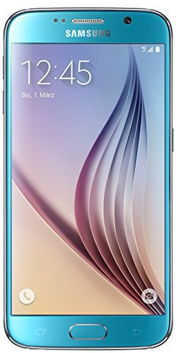 Samsung Galaxy S6 32GB Topaz Blue ohne Vertrag