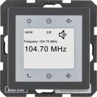 Berker Radio Touch Q.1/Q.3 anthrazit samt (28846086)