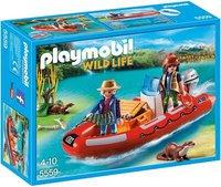 Playmobil Schlauchboot mit Wilderern (5559)