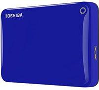 Toshiba Canvio Connect II 1TB blau