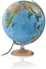 Atmosphere Globes R4 silver 3D-Leuchtglobus