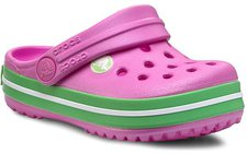 Crocs Kids Crocband carnation/green glow