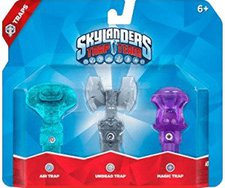 Activision Skylanders: Trap Team - Luft Falle + Gespenster Falle + + Magie Falle