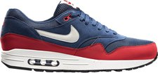 Nike Air Max 1 Essential midnight navy/light bone/university red