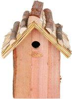 Esschert Vogelhaus Blaumeise mit Strohdach (NK08)