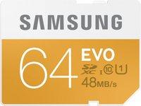 Samsung SDXC EVO 64GB Class 10 UHS-I (MB-SP64D/EU)