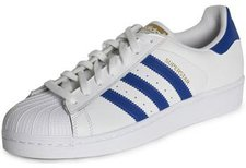 Adidas Superstar Foundation white/collegiate royal