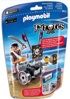Playmobil Schwarze App-Kanone mit Seeräuber (6165)