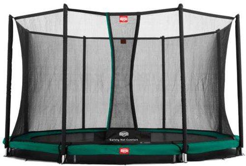 Berg Toys Trampolin InGround Favorit 330 cm mit Sicherheitsnetz Comfort