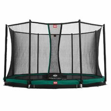 Berg Toys Trampolin InGround Favorit 430 cm mit Sicherheitsnetz Comfort
