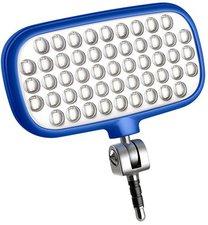 Metz LED-72 smart blau