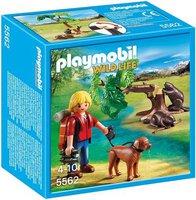 Playmobil Biberbaum mit Naturforscher (5562)