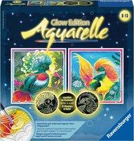 Ravensburger Bunte Vögel Aquarelle Glow Edition (29443)